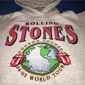 Vintage 1994 Rolling Stones hoodie bought at show.